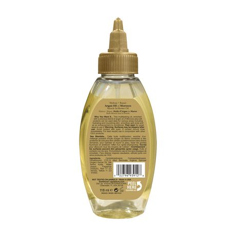 OGX Hydrate & Revive + Argan Oil of Morocco Extra Strength Miracle In-Shower Oil - image 2 of 5
