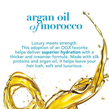OGX Hydrate & Revive + Argan Oil of Morocco Extra Strength Miracle In-Shower Oil - image 3 of 5