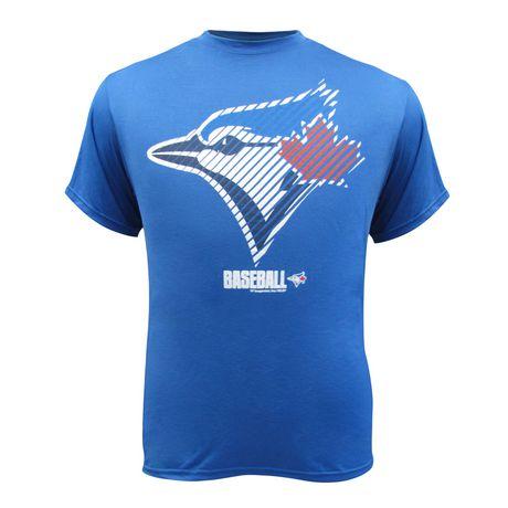 watch 1459b f20b7 Toronto Blue Jays Men's short Sleeved T-Shirt