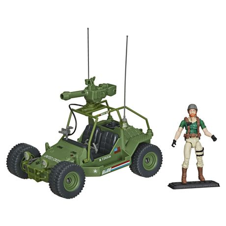 G.I. Joe Retro Collection A.W.E. Striker Toy Vehicle with 3.75-Inch-Scale Collectible Crankcase Action Figure, Toys for Kids Ages 4 and Up - image 2 of 6