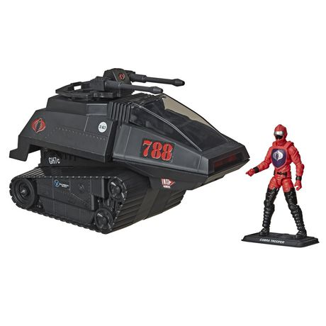 G.I. Joe Retro Collection Cobra H.I.S.S. Toy Vehicle with 3.75-Inch-Scale Cobra H.I.S.S. Driver Action Figure, Toys for Kids Ages 4 and Up - image 2 of 6