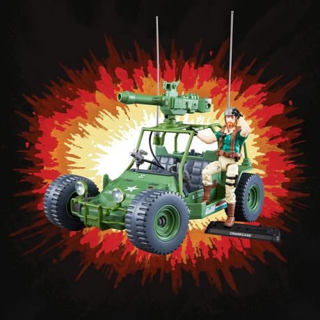 G.I. Joe Retro Collection A.W.E. Striker Toy Vehicle with 3.75-Inch-Scale Collectible Crankcase Action Figure, Toys for Kids Ages 4 and Up - image 6 of 6