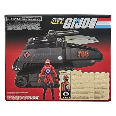 G.I. Joe Retro Collection Cobra H.I.S.S. Toy Vehicle with 3.75-Inch-Scale Cobra H.I.S.S. Driver Action Figure, Toys for Kids Ages 4 and Up - image 3 of 6