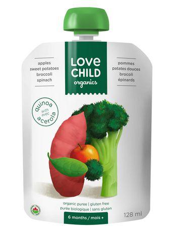 Love Child Organics Super Blends Puree - Pommes, Patates Douces, Brocoli Et épinards - image 1 de 2