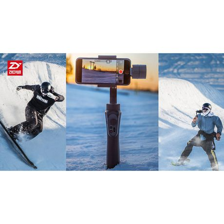 Zhiyun- Smooth-Q  3-Axis Handheld Gimbal Stabilizer for Smartphones - image 5 of 9