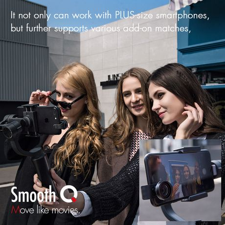 Zhiyun- Smooth-Q  3-Axis Handheld Gimbal Stabilizer for Smartphones - image 9 of 9