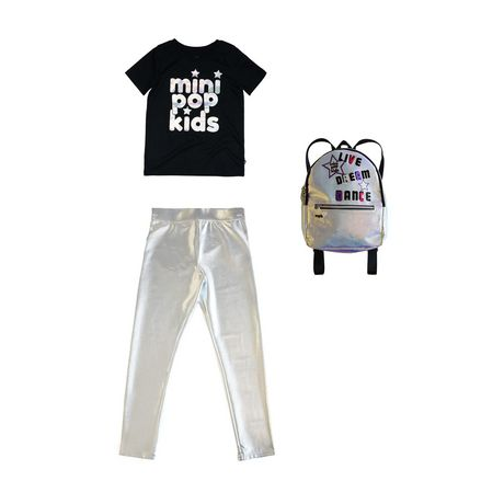 Girls Mini Pop Kids Irridescent Foil T Shirt - image 7 of 7