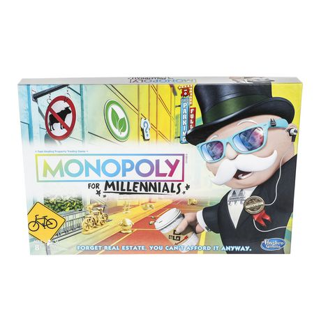 Hasbro Gaming Monopoly for Millennials Board Game - image 1 of 4