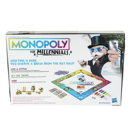 Hasbro Gaming Monopoly for Millennials Board Game - image 4 of 4