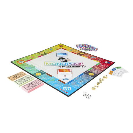 Hasbro Gaming Monopoly for Millennials Board Game - image 3 of 4