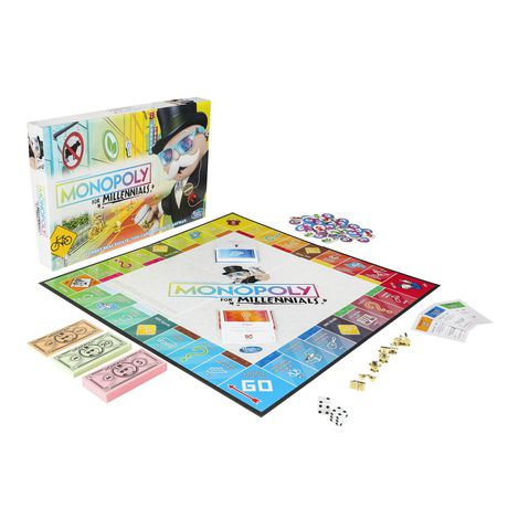Hasbro Gaming Monopoly for Millennials Board Game - image 2 of 4