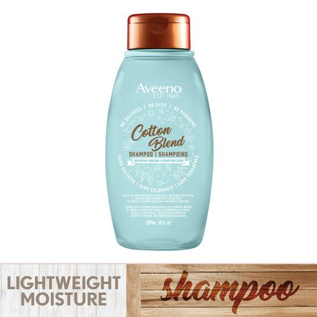 Aveeno Cotton Blend Light Moisture Sulfate-Free Shampoo - image 3 of 7