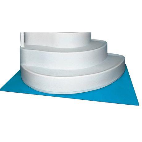 horizon ventures deluxe in pool ladder step liner pad 4 ft x 5 ft
