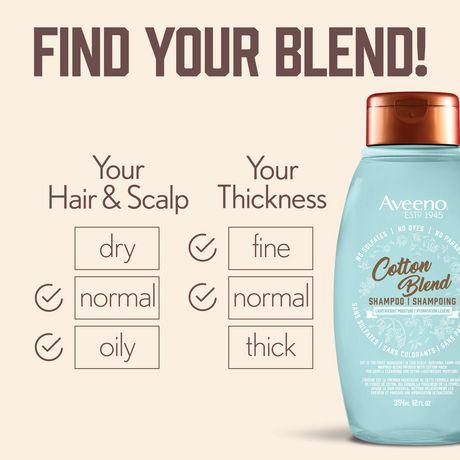 Aveeno Cotton Blend Light Moisture Sulfate-Free Shampoo - image 6 of 7