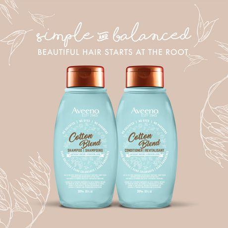 Aveeno Cotton Blend Light Moisture Sulfate-Free Shampoo - image 7 of 7