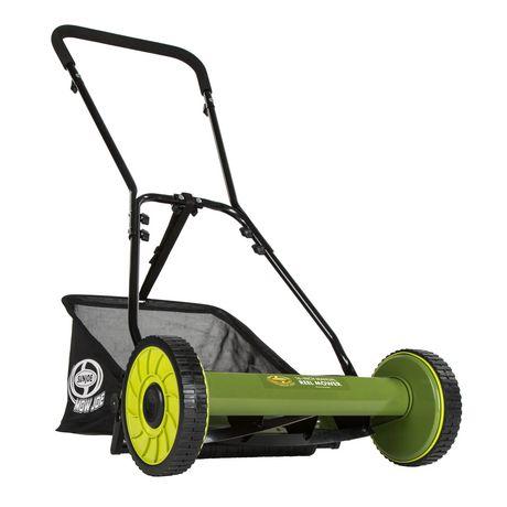 Sun Joe MJ500M Manual Reel Mower w/ Grass Catcher | 16 Inch - image 6 of 6