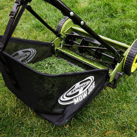 Sun Joe MJ500M Manual Reel Mower w/ Grass Catcher | 16 Inch - image 3 of 6