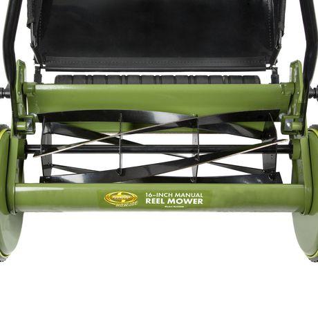 Sun Joe MJ500M Manual Reel Mower w/ Grass Catcher | 16 Inch - image 4 of 6