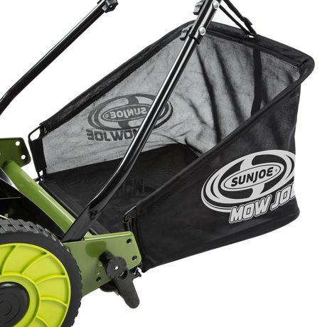 Sun Joe MJ500M Manual Reel Mower w/ Grass Catcher | 16 Inch - image 5 of 6