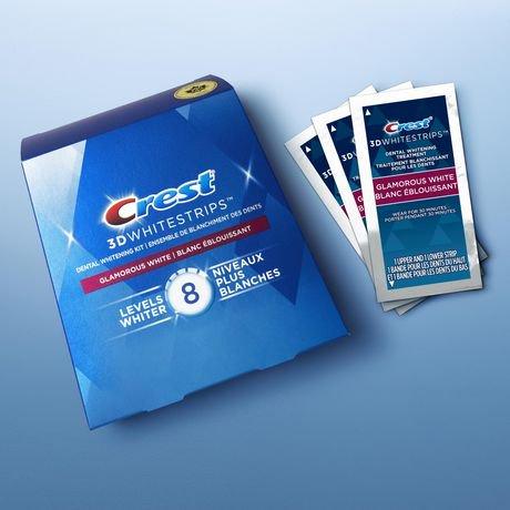 Crest 3D White Whitestrips Glamorous White | Walmart Canada