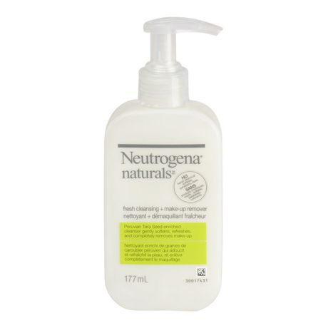 Neutrogena Facial Cleanser with Makeup Remover, 177ml