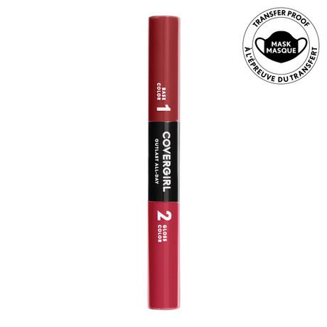Rouge à lèvres liquide Outlast All-Day Color & Gloss de COVERGIRL - image 2 de 4