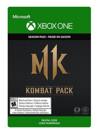 Xbox One Mortal Kombat 11: Kombat Pack [Download] - image 1 de 1
