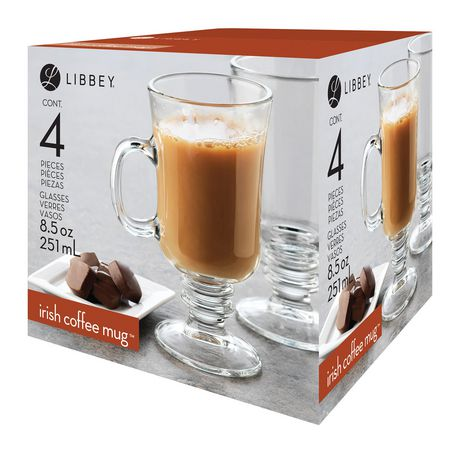 Libbey Irish Coffee Mug Glasses | Walmart Canada