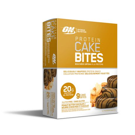 Optimum Nutrition Peanut Butter Chocolate Protein Cake Bites 3 Pack - image 1 of 3
