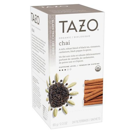 Tazo Black Tea Bags Organic Chai 24 PC - image 4 of 9
