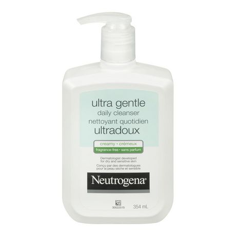 Neutrogena® Ultra Gentle Creamy Formula Fragrance-Free Daily Cleanser