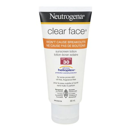 Walmart Oil Change Price >> NEUTROGENA® Clear Face™ Sunscreen Lotion - SPF 30 | Walmart.ca