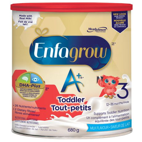 Can of Enfagrow A+ baby formula for babies and toddlers - best Enfagrow baby formula