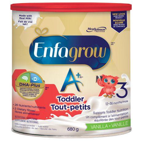 Boisson nutritionnelle Enfagrow A+®, saveur vanille, en poudre - image 2 de 4