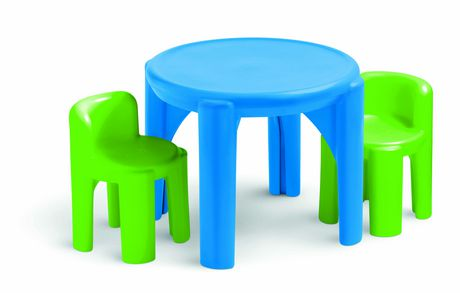 Little Tikes Bright N Bold Table And Chairs Set Walmart Canada