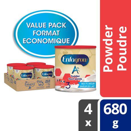 Enfagrow A+® Toddler Nutritional Drink, Milk Flavour Powder, Value Pack - image 1 of 4
