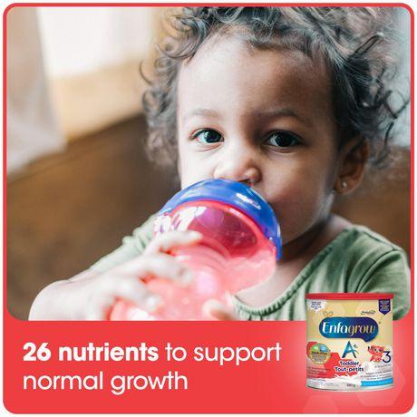 Enfagrow A+® Toddler Nutritional Drink, Milk Flavour Powder, Value Pack - image 3 of 4