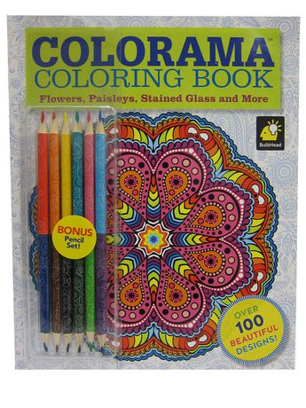 As Seen On TV Colorama Coloring Book