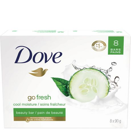 Dove Go Fresh Cool Moisture Beauty Bar 8x90g - image 2 of 8