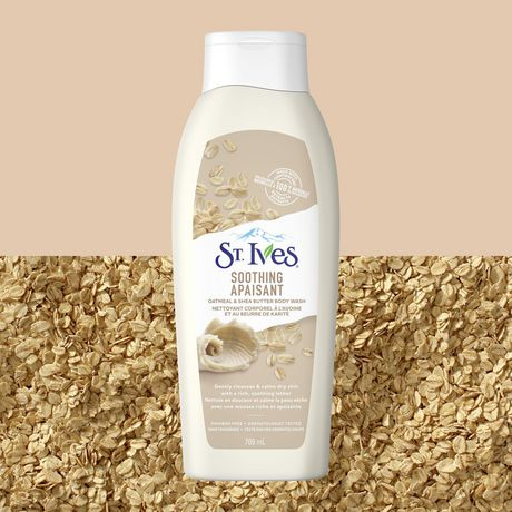 St. Ives Oatmeal and Shea Butter Body Wash 709 ML - image 4 of 7