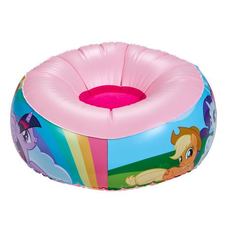 Chaise gonflable my little pony pour jeunes walmart canada for Chaise gonflable
