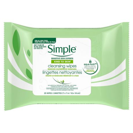Simple Kind to Skin Cleansing Facial Wipes 25 count - image 2 of 9