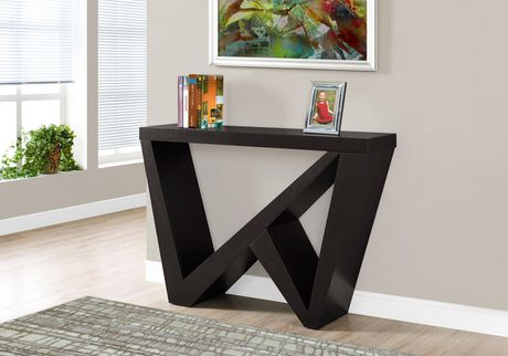 Monarch Specialties Cappuccino Accent Table - image 1 of 3