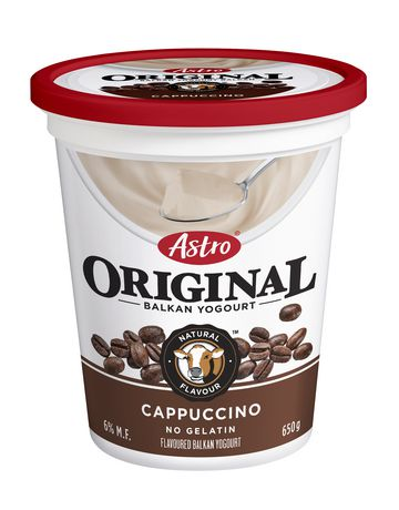 Astro Original Yogourt Cappuccino 6% 650g