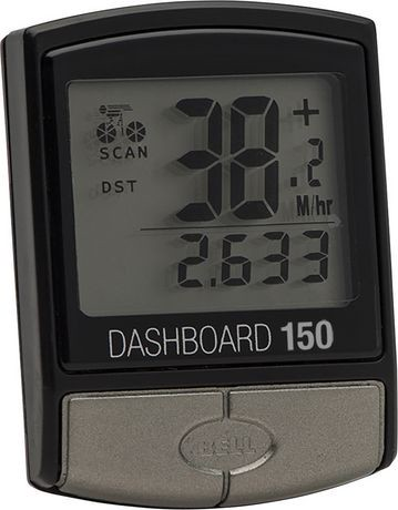 Bell Sports Dashboard 150 14 Function Bicycle Computer Display