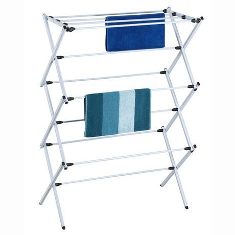 homedecoratorscom laundry indoor fold wall down clothes folding madison racks drying mounted p collapsible rack