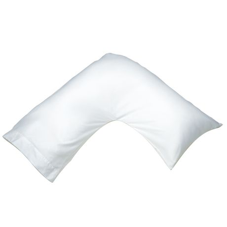 Oreiller multi-positions en forme de boomerang - image 1 de 2