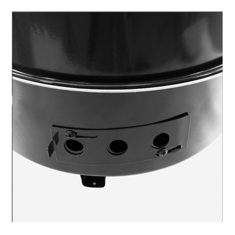 Dyna-Glo Compact Charcoal Bullet Smoker - High Gloss Black - image 7 of 9