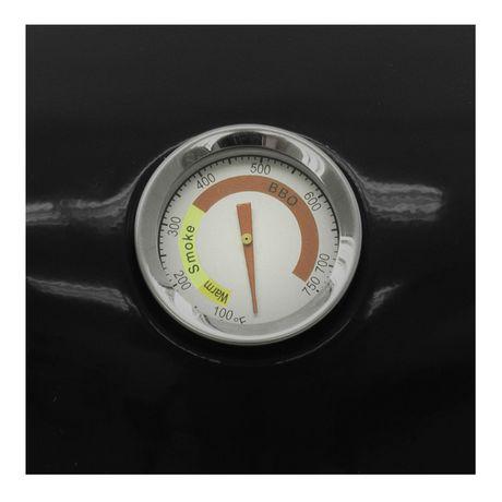 Dyna-Glo Compact Charcoal Bullet Smoker - High Gloss Black - image 8 of 9