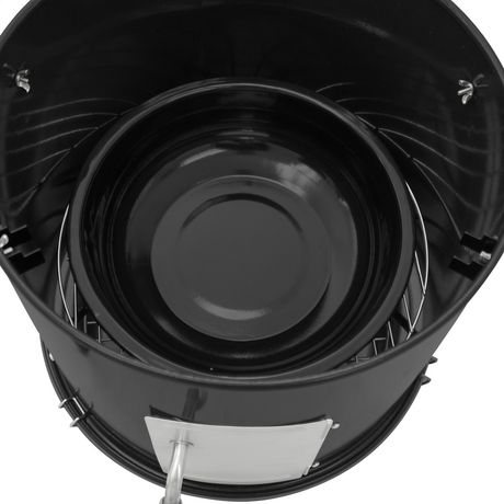 Dyna-Glo Compact Charcoal Bullet Smoker - High Gloss Black - image 5 of 9